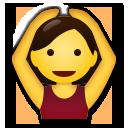 Face With Ok Gesture lg emoji