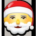 Father Christmas lg emoji