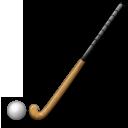 Field Hockey Stick And Ball lg emoji