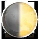 First Quarter Moon Symbol lg emoji