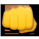 Fisted Hand Sign lg emoji