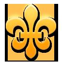 Fleur-de-lis lg emoji