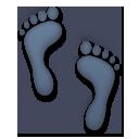 Footprints lg emoji