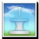 Fountain lg emoji
