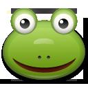 Frog Face lg emoji