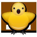 Front-facing Baby Chick lg emoji