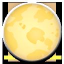 Full Moon Symbol lg emoji