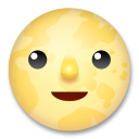 Full Moon With Face lg emoji