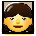 Girl lg emoji