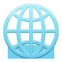 Globe With Meridians lg emoji