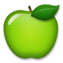 Green Apple lg emoji
