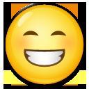 Grinning Face With Smiling Eyes lg emoji