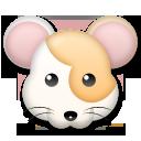 Hamster Face lg emoji
