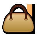 Handbag lg emoji