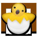 Hatching Chick lg emoji