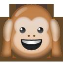 Hear-no-evil Monkey lg emoji
