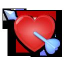Heart With Arrow lg emoji