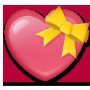 Heart With Ribbon lg emoji