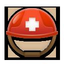 Helmet With White Cross lg emoji