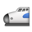 High-speed Train With Bullet Nose lg emoji
