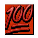 Hundred Points Symbol lg emoji
