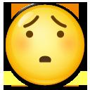 Hushed Face lg emoji