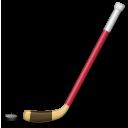 Ice Hockey Stick And Puck lg emoji