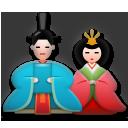 Japanese Dolls lg emoji