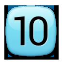 Keycap Ten lg emoji