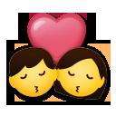 Kiss lg emoji
