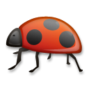 Lady Beetle lg emoji