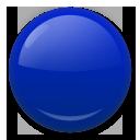Large Blue Circle lg emoji