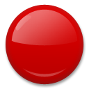 Large Red Circle lg emoji
