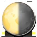Last Quarter Moon Symbol lg emoji