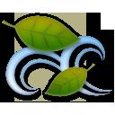Leaf Fluttering In Wind lg emoji
