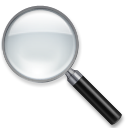 Left-pointing Magnifying Glass lg emoji