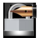 Lock With Ink Pen lg emoji