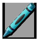 Lower Left Crayon lg emoji