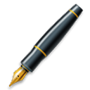 Lower Left Fountain Pen lg emoji