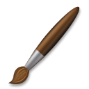 Lower Left Paintbrush lg emoji