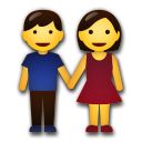 Man And Woman Holding Hands lg emoji