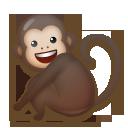 Monkey lg emoji