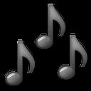 Multiple Musical Notes lg emoji