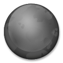 New Moon Symbol lg emoji