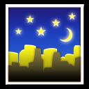 Night With Stars lg emoji