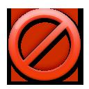 No Entry Sign lg emoji