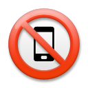 No Mobile Phones lg emoji