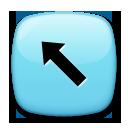 North West Arrow lg emoji