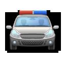 Oncoming Police Car lg emoji