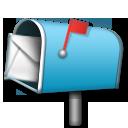 Open Mailbox With Raised Flag lg emoji
